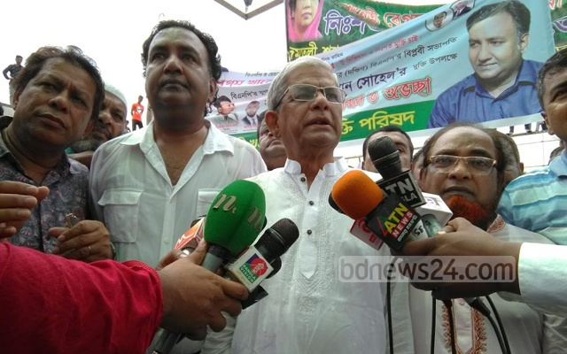 BNP's Fakhrul vows to intensify protests to free Khaleda from jail