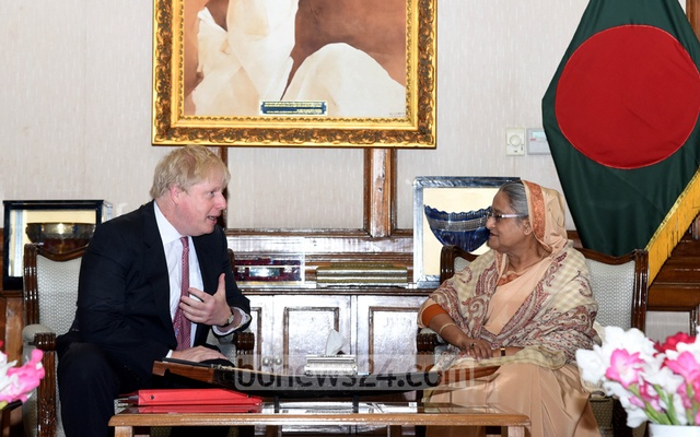 PM Hasina sends mangoes to Boris Johnson as gifts