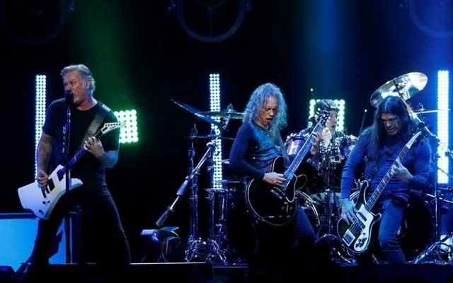 Heavy metal band Metallica donates 250,000 euros to Romanian paediatric hospital