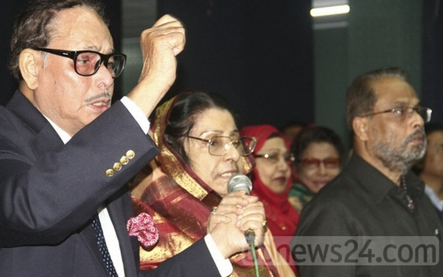 Ershad's Jatiya Party facing split as Raushon, GM Quader tussle for reins