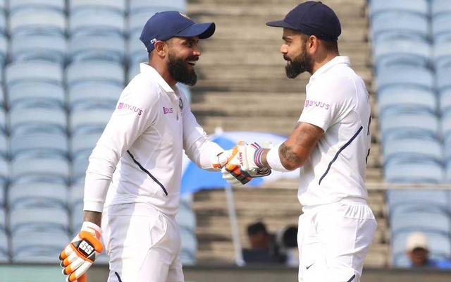 Kohli hits unbeaten double ton as India declare on 601-5