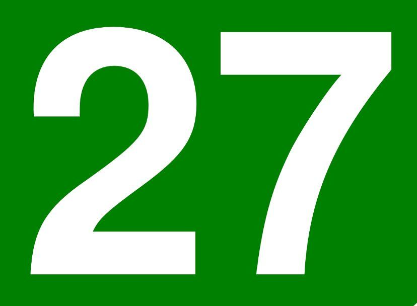 THE MEANING OF THE NUMBER 27: IN NUMEROLOGY