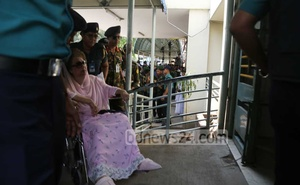 BNP Chairperson Khaleda has been receiving treatment at the BSMMU under the prison authorities' supervision.