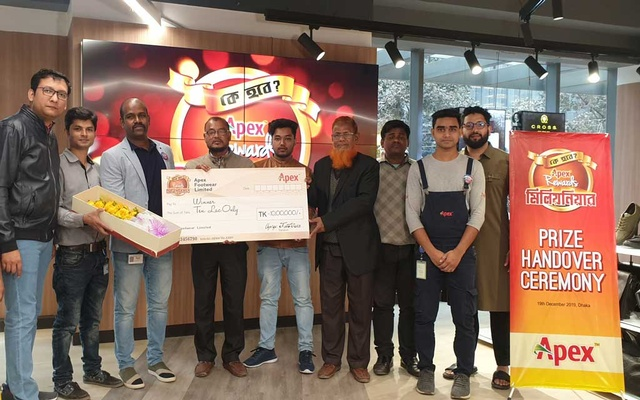 Rangpur man wins Tk 1 million in Apex Rewards Millionaire campaign