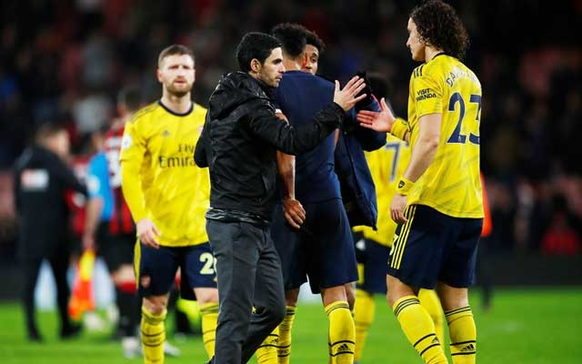 Win for Ancelotti but Arsenal's Arteta has to settle for draw