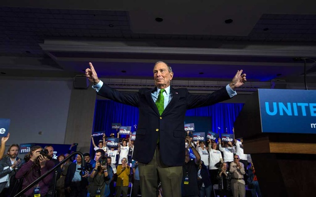 Bloomberg fuelled his campaign with $200 million from his fortune